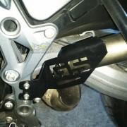 Protetor de Escapamento Scam Preto - F 700 GS - BMW - Super Moto Shop