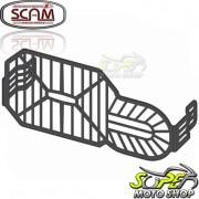 Protetor de Farol em Grade Scam Preto - F 700 GS - BMW - Super Moto Shop
