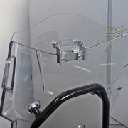 Defletor Drakar para Bolha Original Modelo AD-800 Sirius - F 800 GS Adventure - BMW - Super Moto Shop