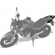 Kit Bauleto / Bau Traseiro Givi 45 Litros + Bagageiro Scam - Twister CB 250 2016 em Diante - Honda - Super Moto Shop