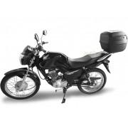 Kit Bauleto / Bau Traseiro Givi 45 Litros + Bagageiro Scam - CG 125 / 150 Titan / Fan ano 2014/2015 - Honda - Super Moto Shop