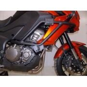 Protetor de Motor e Carenagem Chapam Preto - Versys 1000 ano 2015 em Diante - Kawasaki - Super Moto Shop