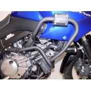 Protetor de Motor e Carenagem Chapam Preto - V-Strom 650 ano 2016 em Diante - Suzuki - Super Moto Shop