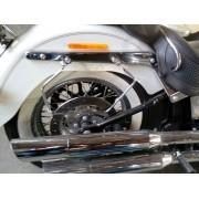Suporte / Afastador de Alforge V2 - HD Softail Deluxe ano 2005 até 2017 - Harley Davidson - Super Moto Shop