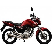 Escapamento SUPER Estralador Modelo Torbal Cromado - CG 150 Titan KS / ESi - Honda 2009 até 2013 - Super Moto Shop