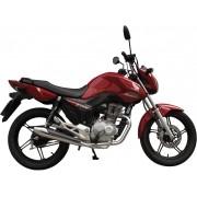 Escapamento SUPER Estralador Modelo Torbal Cromado - CG 150 Titan EX - Honda 2014 em diante - Super Moto Shop