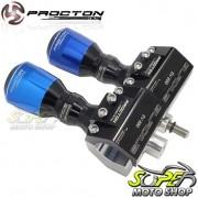 Slider Dianteiro Procton Alumínio (PAR) - SV 650 - Suzuki - Super Moto Shop