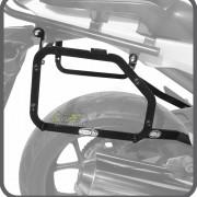 Kit Baú / Bauleto Lateral Side Case GIVI Modelo E-21 (Par) + Suporte Scam - NC 700/750 X ano 2016 em Diante - Honda - Super Moto Shop
