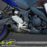 Escape / Ponteira Firetong Willy Made em Inox - Mt-03 - Yamaha - Super Moto Shop