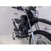 Protetor de Motor / Mata Cachorro Chapam Modelo Duas Barras - Bros NX-R 160 / XRE 190 - Honda - Super Moto Shop