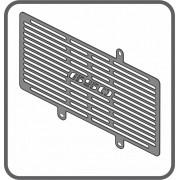 Protetor de Radiador Scam Preto - ER-6N até 2012 - Kawasaki - Super Moto Shop