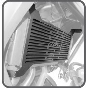 Protetor de Radiador Scam Preto - Versys 650 ano 2015 em Diante - Kawasaki - Super Moto Shop