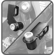 Protetor do Sensor ABS Scam Preto - Versys 650 ano 2015 em Diante - Kawasaki - Super Moto Shop