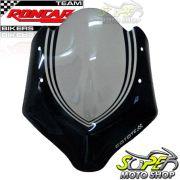 Bolha / Parabrisa Coyote Modelo Hi-Tech Fum� com Preto - CB 300 R - Honda