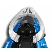 Bagageiro / Suporte Liga Leve Scam em Prata ou Preto - Fazer 150 - Yamaha - Super Moto Shop