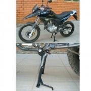 Cavalete / Descanso Central Chapam Preto - Bros NX-R 160 / XRE 190 - Honda - Super Moto Shop