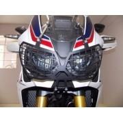 Protetor de Farol Principal Chapam em Aço Carbono - Africa Twin CRF 1000 L - Honda - Super Moto Shop