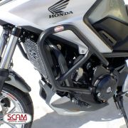Protetor de Motor e Carenagem Scam com Pedaleira Modelo Sport - NC 700 / 750 X Todos os Anos - Honda - Super Moto Shop