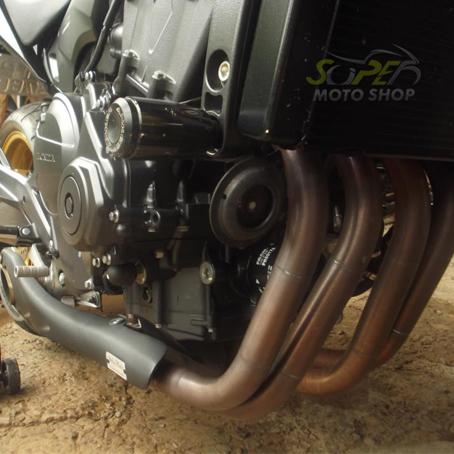 Escape / Ponteira Firetong Willy Made em Inox - Hornet CB 600 F ano 2008 até 2014 - Honda