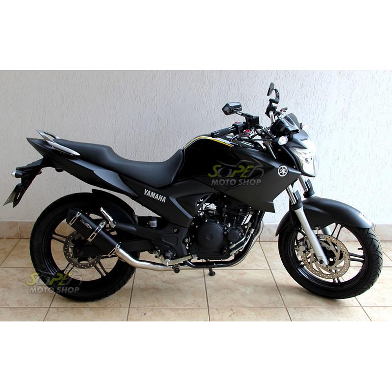 Escape / Ponteira Jeskap K2 Snake Alumínio - Fazer 250 2011 em diante - Yamaha