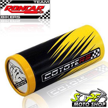 Slider Dianteiro Coyote (PAR) CBR 1000 RR 2008 até 2009 - Amarelo & Preto c/ Anel Amarelo