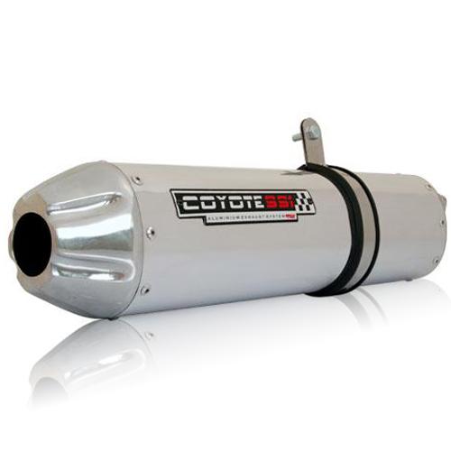 Escape / Ponteira Coyote SS1 Alumínio - Duke 390 / 200 - KTM