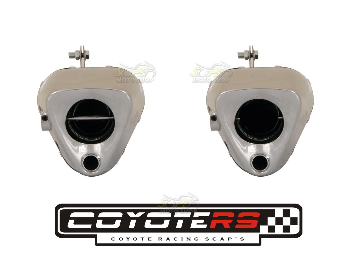 Escape / Ponteira Coyote TRS 2 WAY Alumínio - Fazer 250 ano 2016/2017 - Yamaha