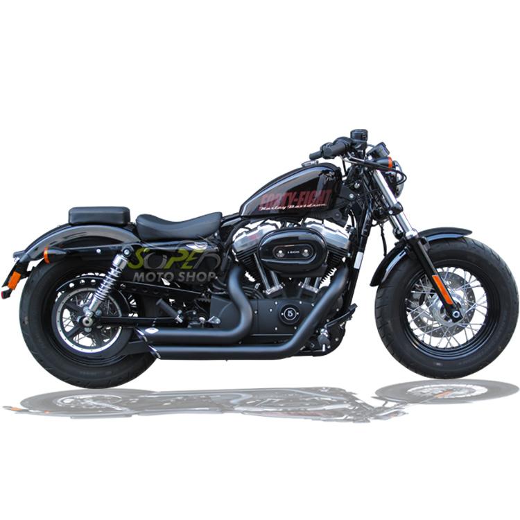 Escapamento Esportivo Torbal Modelo Short Shot Corte p/ Baixo - HD Sportster 883 2009 até 2013 - Harley Davidson