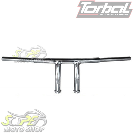 Guidão Torbal Modelo T-Bar Cromado - Mirage 250 - Kasinski