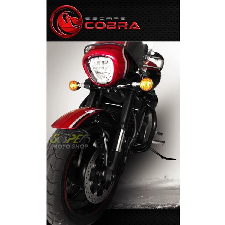 Protetor de Motor / Mata Cachorro Cobra Tubular - Boulevard 1800 M - Suzuki