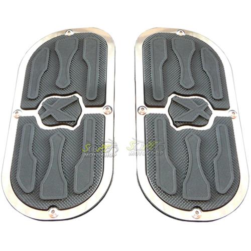 Plataforma Traseira JMX Fixa Modelo Free (PAR) - Shadow 750 - Honda