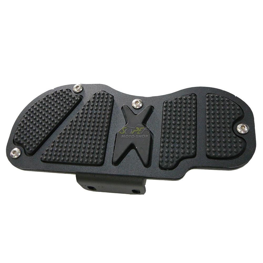 Kit Plataformas Dianteiras Fixas + Traseiras Articuladas Modelo Sport - HD XL 883 / Softail / Dyna - Harley Davidson