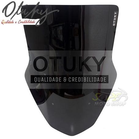 Bolha / Parabrisa Modelo Otuky Alongada em Acrílico - NMax 160 - Yamaha