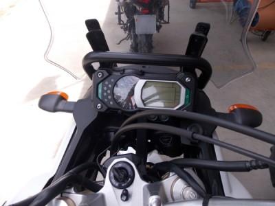 Suporte / Alça Preta Modelo Chapam Para GPS - Super Tenere 1200 até 2015 - Yamaha