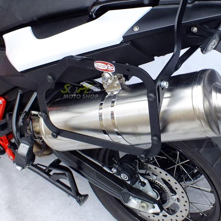 Suporte Bauletos Laterais Scam - F 700 GS - BMW