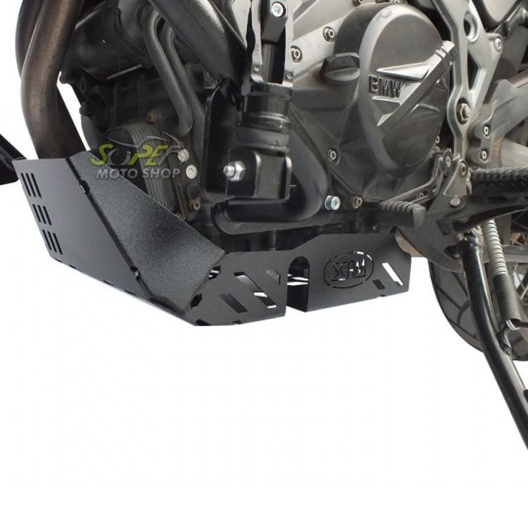 Protetor de Carter Scam Preto - F 700 GS - Yamaha