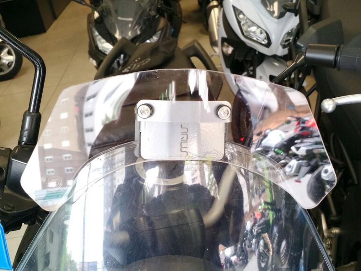 Defletor Drakar para Bolha Original Modelo KV Sirius - Versys 650 até 2014 - Kawasaki
