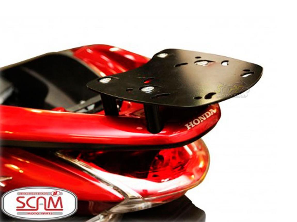 Kit Bauleto / Bau Traseiro Givi 45 Litros + Bagageiro Scam - PCX 150 ano 2015 em Diante - Honda