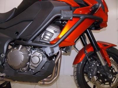 Protetor de Motor e Carenagem Chapam Preto - Versys 1000 ano 2015 em Diante - Kawasaki
