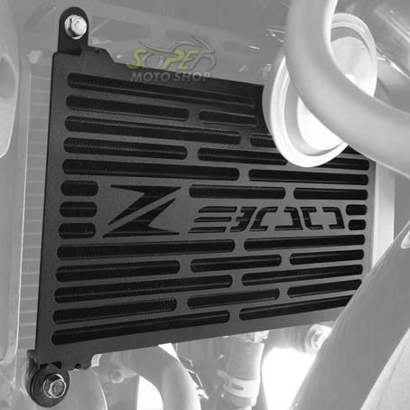 Protetor de Radiador Scam Preto - Z-300 / Ninja 300 R - Kawasaki