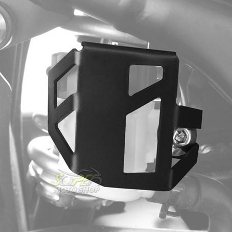 Protetor / Capa do Reservatório de Freio Traseiro Scam Preto - Z-300 / Ninja 300 R - Kawasaki