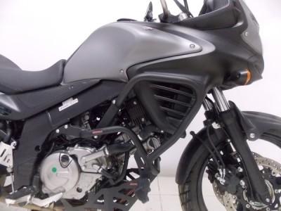 Protetor de Motor e Carenagem Chapam Preto - V-Strom 650 ano 2016 até 2018 - Suzuki