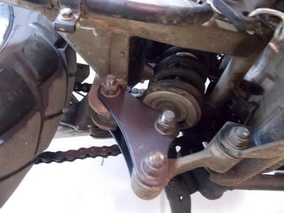 Braço de Regulagem Chapam Para Suspensão Preto Fosco (PAR) - Tenere 250 - Yamaha