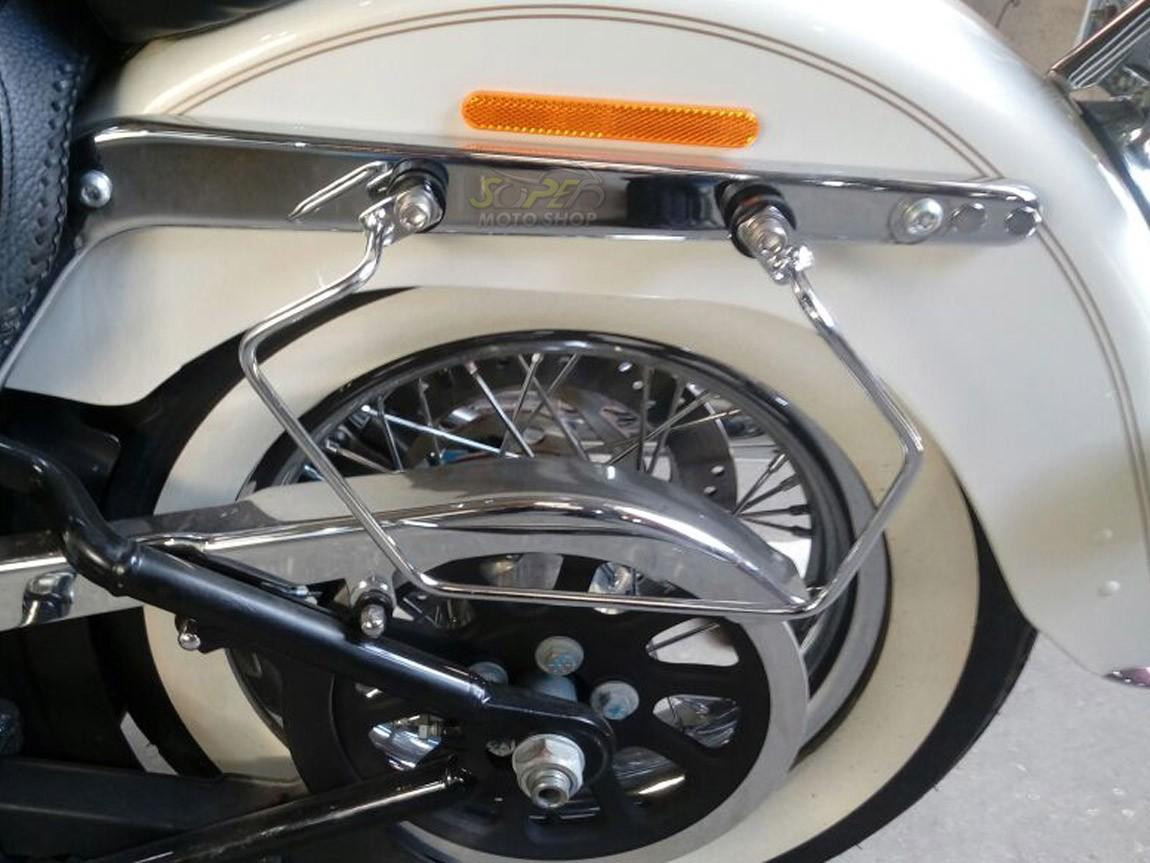 Suporte / Afastador de Alforge V2 - HD Softail Deluxe ano 2005 até 2017 - Harley Davidson