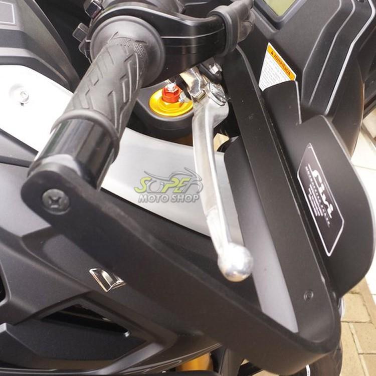 Protetor de Mão Modelo Livi com Adesivo em Fibra - V-Strom DL 1000 ano 2014 em Diante - Suzuki