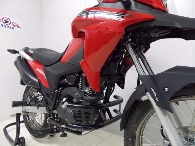 Protetor de Motor / Mata Cachorro Chapam Modelo Duas Barras - Bros NX-R 160 / XRE 190 - Honda