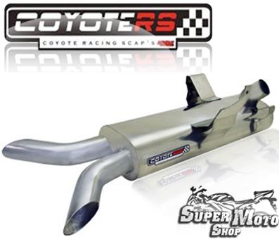 Escape / Ponteira Coyote SS2 Único em Aço Inox XB 9S - Buell