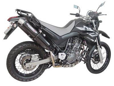 Escape / Ponteira Coyote RS3 Alumínio PAR Oval XT 660 R - Yamaha