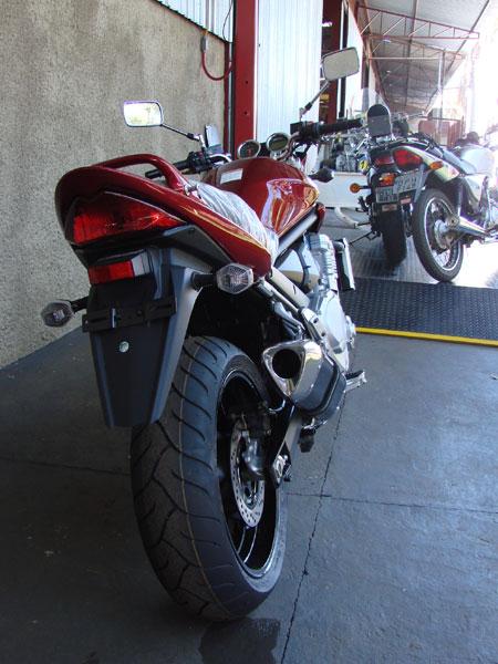 Escape / Ponteira Coyote TRS Tri-Oval 300mm Alumínio GSX 650 F / Bandit 650 & 1250 2009 em Diante - Polido - Suzuki