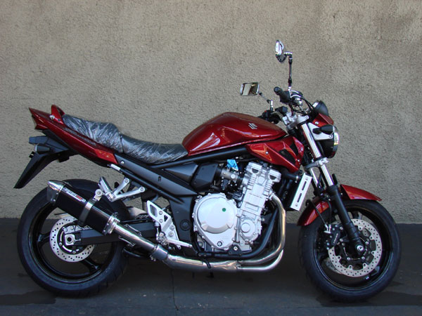 Escape / Ponteira Coyote TRS Tri-Oval Alumínio Bandit 1200 N/S 2004 até 2006 - Preto - Suzuki